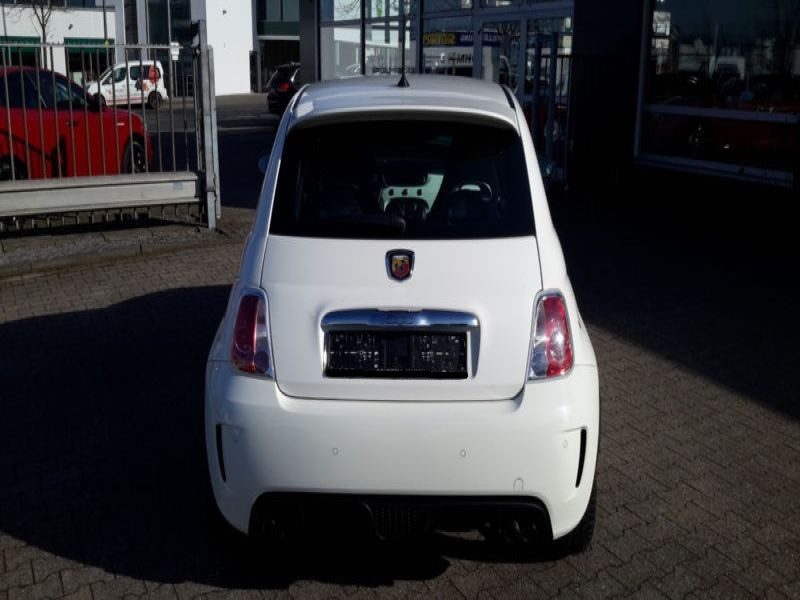 Abarth 500 1.4 T-Jet 135 Blanc occasion à Beaupuy - photo n°8