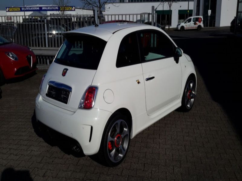 Abarth 500 1.4 T-Jet 135 Blanc occasion à Beaupuy - photo n°2