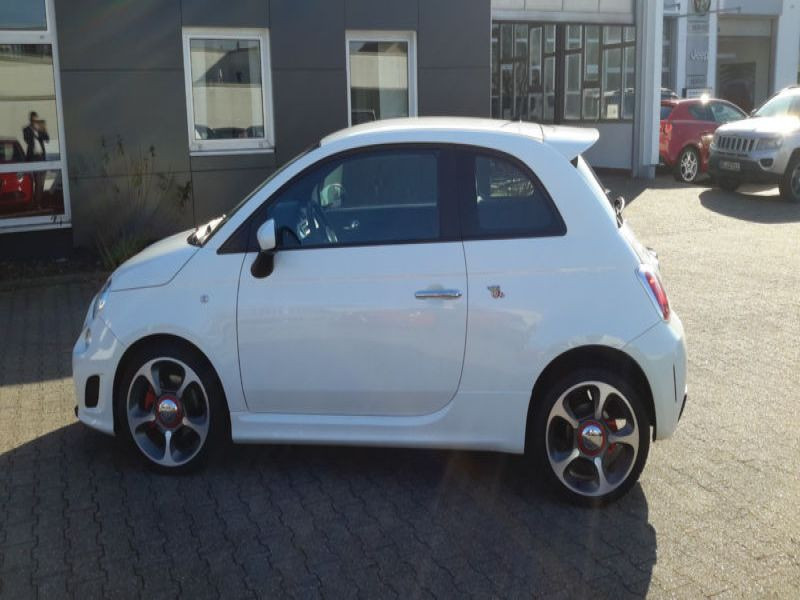 Abarth 500 1.4 T-Jet 135 Blanc occasion à Beaupuy - photo n°5