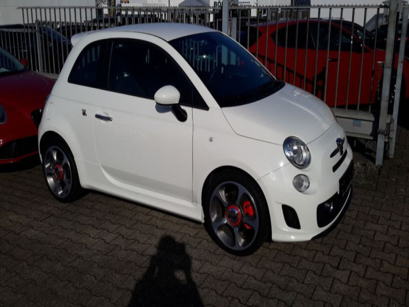 Abarth 500 1.4 T-Jet 135 Blanc occasion à Beaupuy - photo n°6