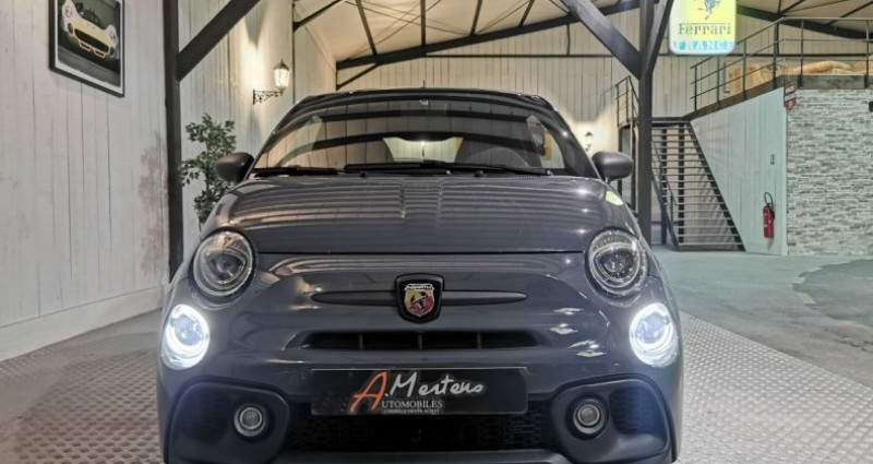 Abarth 500 1.4 T-JET 180 CV 595 COMPETIZIONE Gris occasion à Charentilly - photo n°3