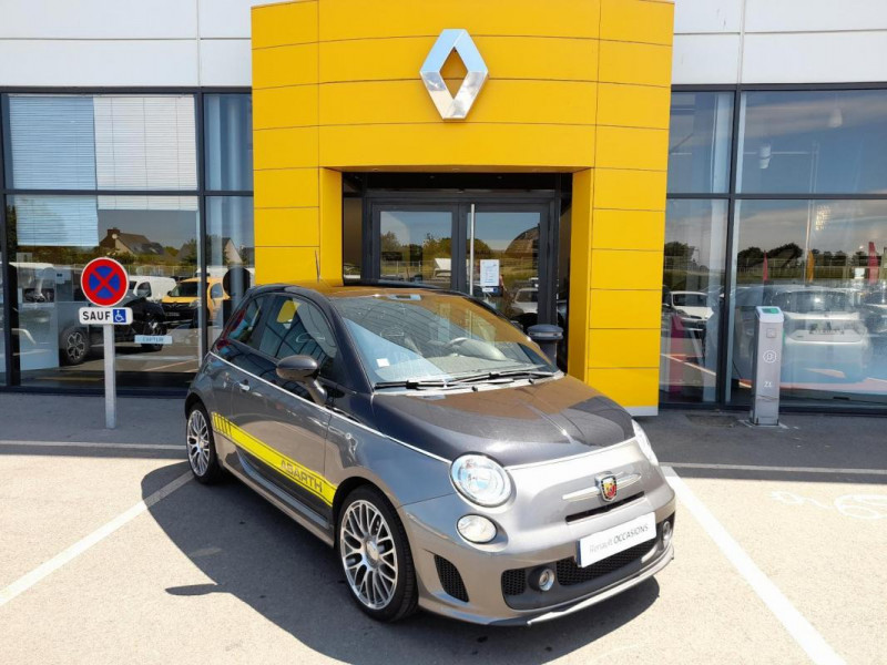 Abarth 500 1.4 Turbo 16V T-Jet 140 ch A Noir occasion à LAMBALLE