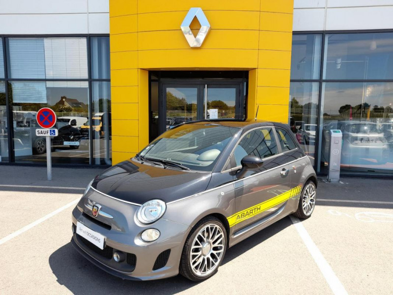 Abarth 500 1.4 Turbo 16V T-Jet 140 ch A Noir occasion à LAMBALLE - photo n°2