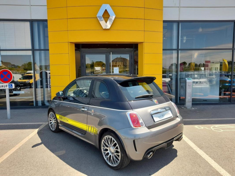 Abarth 500 1.4 Turbo 16V T-Jet 140 ch A Noir occasion à LAMBALLE - photo n°4