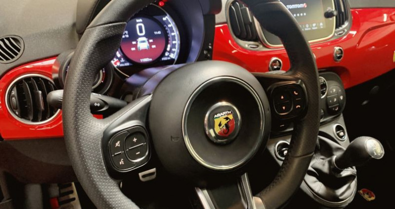 Abarth 500 1.4 Turbo T-Jet 145ch 595 MY19 Rouge occasion à MOUGINS - photo n°7