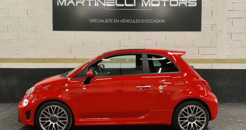 Abarth 500 1.4 Turbo T-Jet 145ch 595 MY19 Rouge occasion à MOUGINS - photo n°2