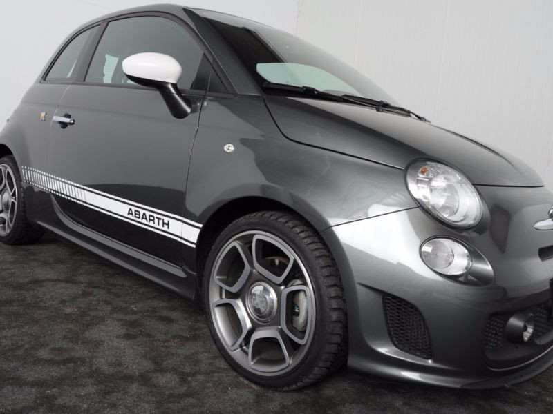 Abarth 595 1.4 T-Jet 140 Gris occasion à Beaupuy - photo n°7
