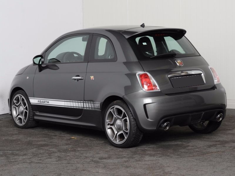 Abarth 595 1.4 T-Jet 140 Gris occasion à Beaupuy - photo n°9
