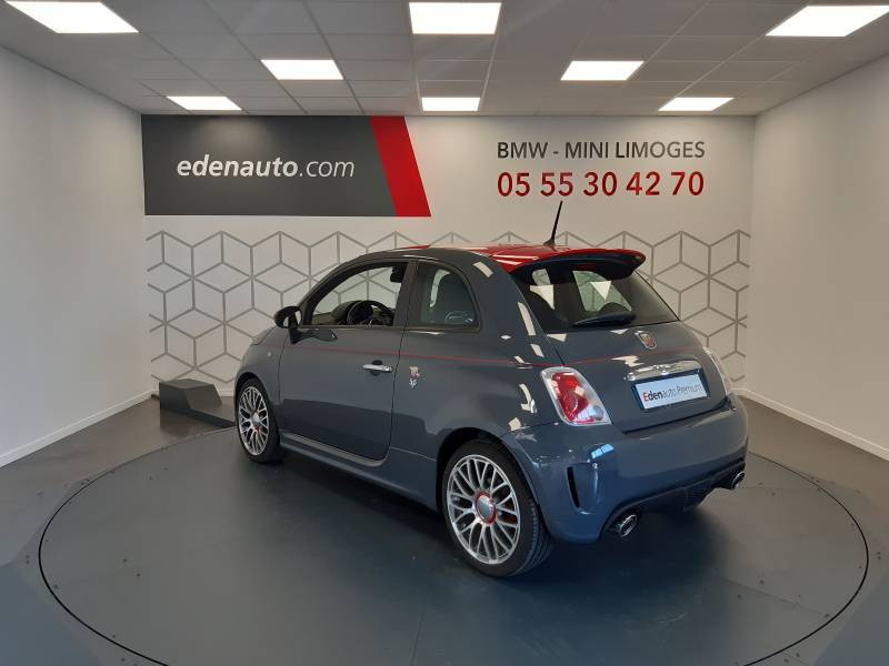 Abarth 595 1.4 Turbo 16V T-Jet 140 ch A Gris occasion à Limoges - photo n°11