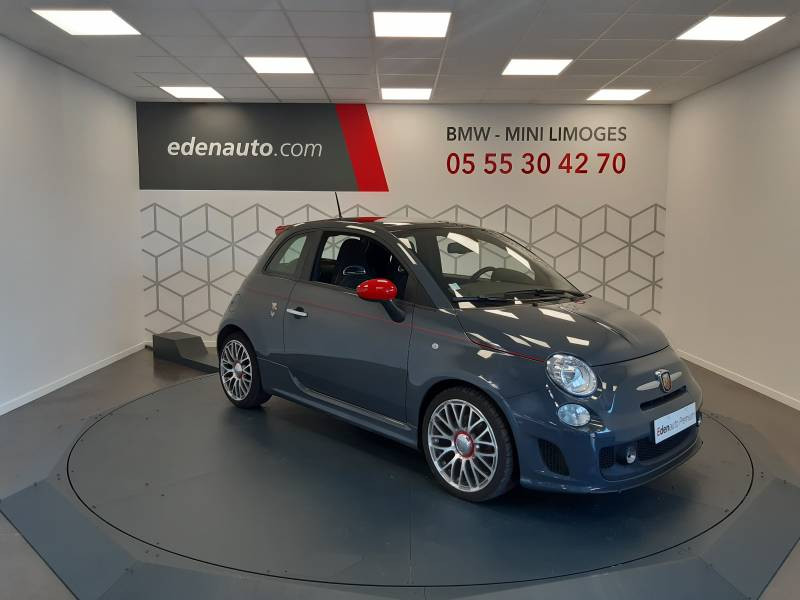 Abarth 595 1.4 Turbo 16V T-Jet 140 ch A Gris occasion à Limoges - photo n°14