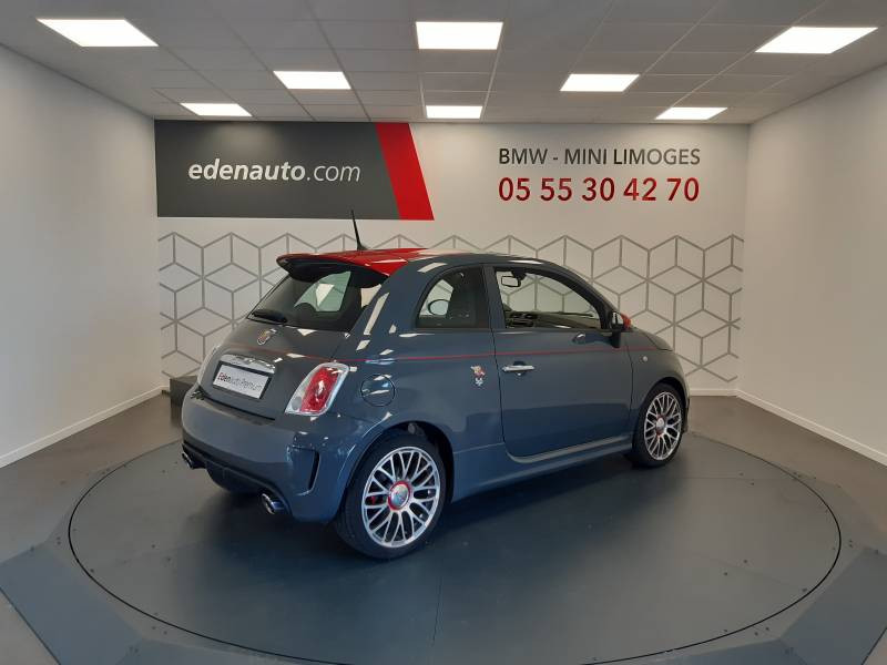 Abarth 595 1.4 Turbo 16V T-Jet 140 ch A Gris occasion à Limoges - photo n°2