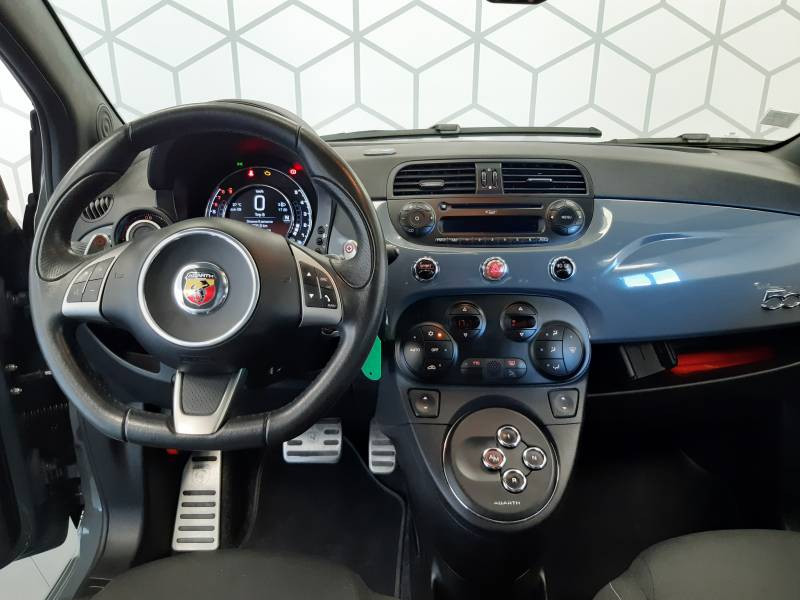 Abarth 595 1.4 Turbo 16V T-Jet 140 ch A Gris occasion à Limoges - photo n°5
