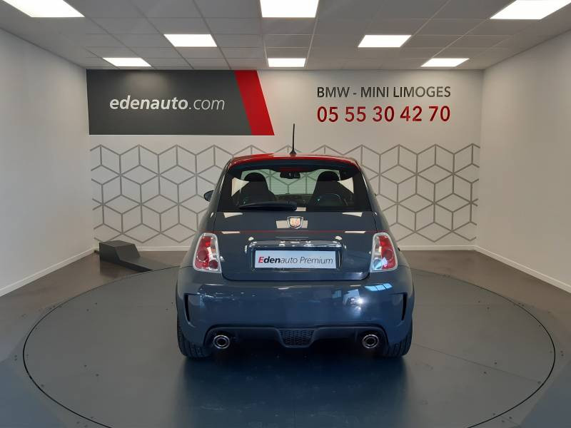 Abarth 595 1.4 Turbo 16V T-Jet 140 ch A Gris occasion à Limoges - photo n°10