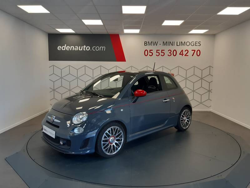 Abarth 595 1.4 Turbo 16V T-Jet 140 ch A Gris occasion à Limoges