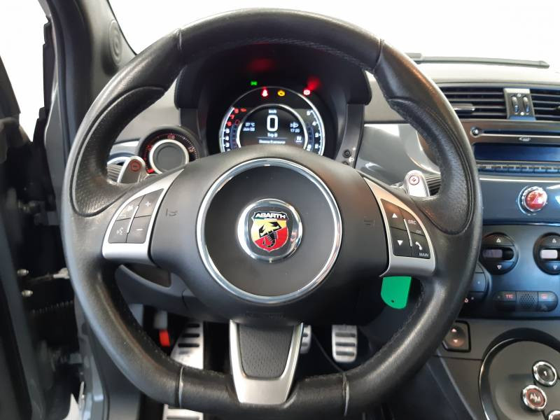 Abarth 595 1.4 Turbo 16V T-Jet 140 ch A Gris occasion à Limoges - photo n°16
