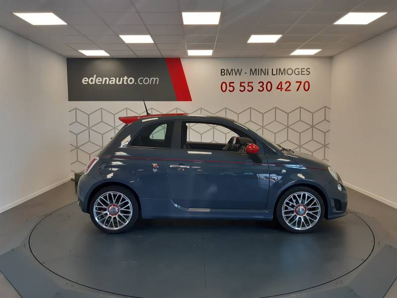 Abarth 595 1.4 Turbo 16V T-Jet 140 ch A Gris occasion à Limoges - photo n°3