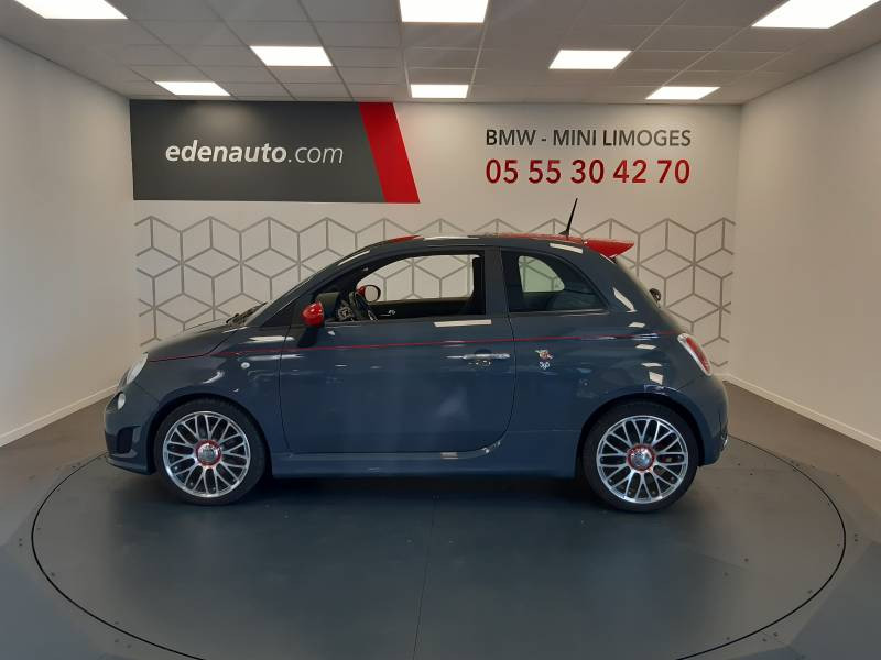 Abarth 595 1.4 Turbo 16V T-Jet 140 ch A Gris occasion à Limoges - photo n°12