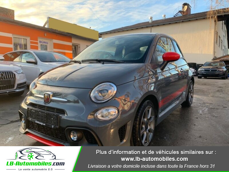 Abarth 595 1.4 Turbo T-Jet 145 ch Gris occasion à Beaupuy
