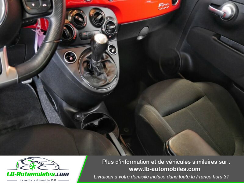 Abarth 595 1.4 Turbo T-Jet 145 ch Rouge occasion à Beaupuy - photo n°8