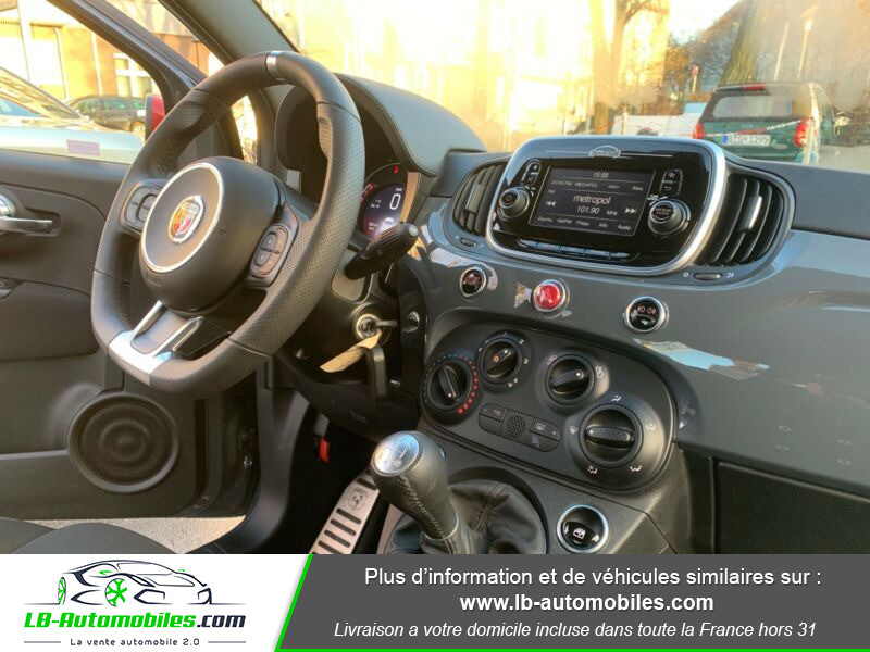 Abarth 595 1.4 Turbo T-Jet 145 ch Gris occasion à Beaupuy - photo n°7