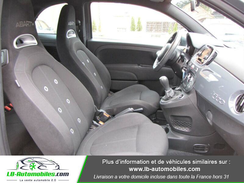 Abarth 595 1.4 Turbo T-Jet 145 ch Gris occasion à Beaupuy - photo n°8