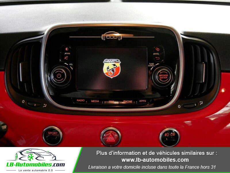 Abarth 595 1.4 Turbo T-Jet 145 ch Rouge occasion à Beaupuy - photo n°6