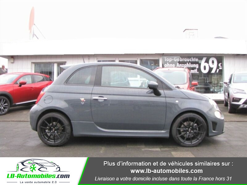 Abarth 595 1.4 Turbo T-Jet 145 ch Gris occasion à Beaupuy - photo n°11