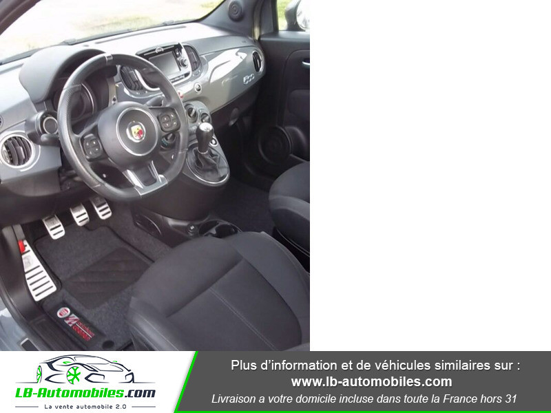 Abarth 595 1.4 Turbo T-Jet 145 ch Gris occasion à Beaupuy - photo n°2