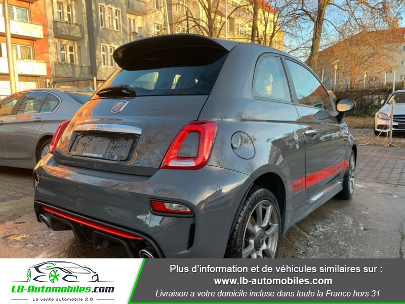 Abarth 595 1.4 Turbo T-Jet 145 ch Gris occasion à Beaupuy - photo n°3