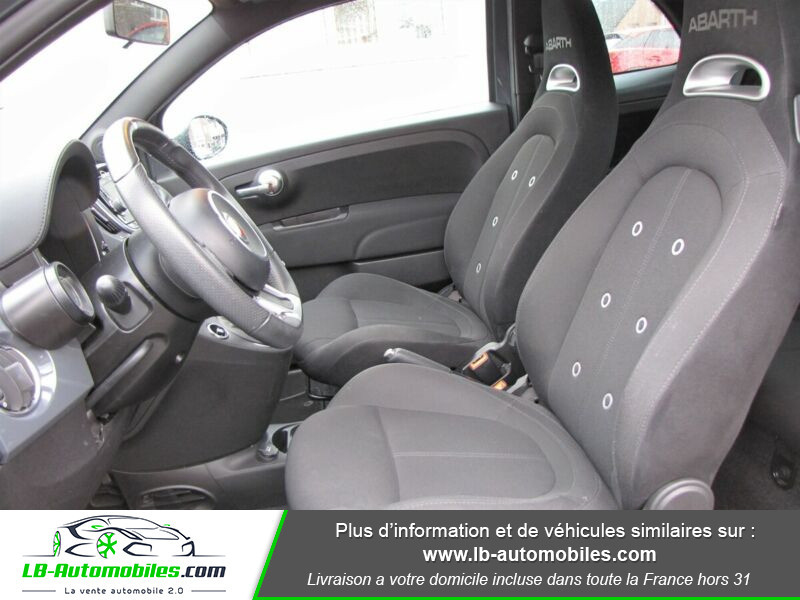 Abarth 595 1.4 Turbo T-Jet 145 ch Gris occasion à Beaupuy - photo n°4