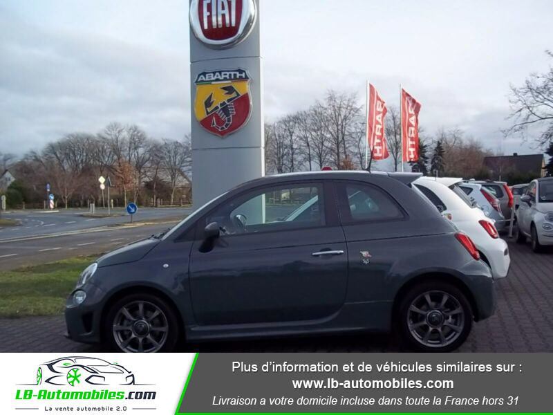 Abarth 595 1.4 Turbo T-Jet 145 ch Gris occasion à Beaupuy - photo n°14