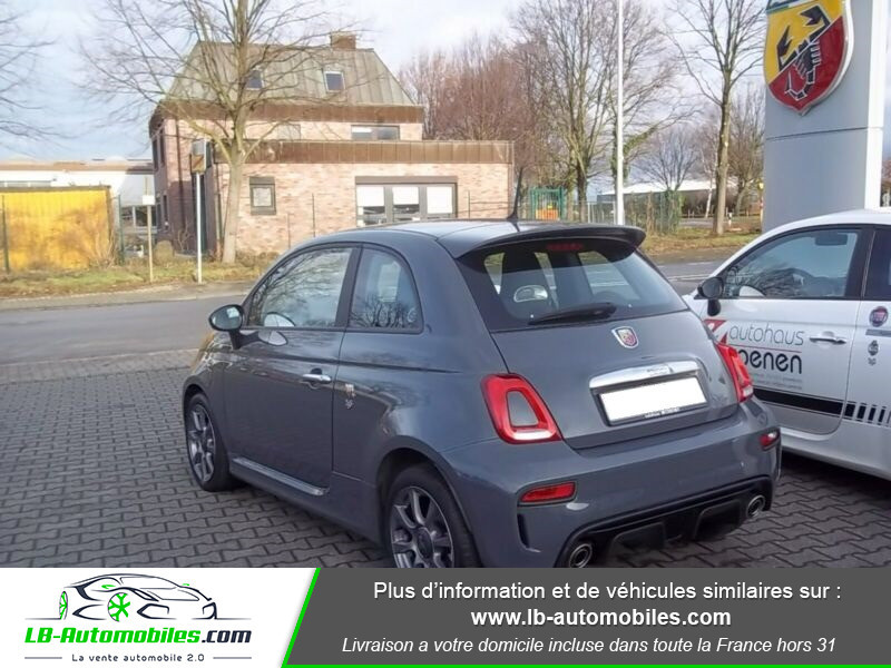 Abarth 595 1.4 Turbo T-Jet 145 ch Gris occasion à Beaupuy - photo n°13