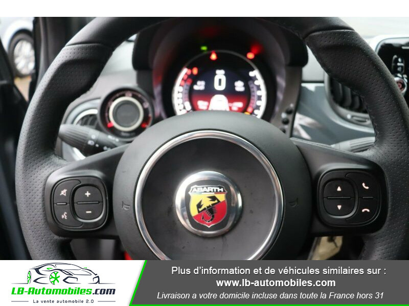 Abarth 595 1.4 Turbo T-Jet 145 ch Gris occasion à Beaupuy - photo n°6