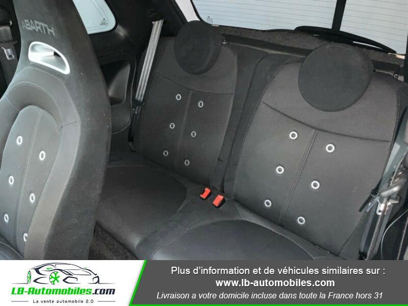 Abarth 595 1.4 Turbo T-Jet 145 ch Gris occasion à Beaupuy - photo n°5