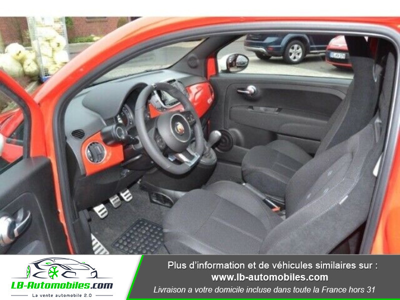 Abarth 595 1.4 Turbo T-Jet 145 ch Rouge occasion à Beaupuy - photo n°2