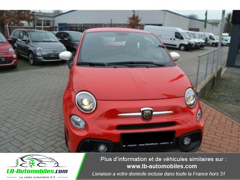 Abarth 595 1.4 Turbo T-Jet 145 ch Rouge occasion à Beaupuy - photo n°7