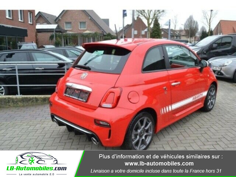 Abarth 595 1.4 Turbo T-Jet 145 ch Rouge occasion à Beaupuy - photo n°3