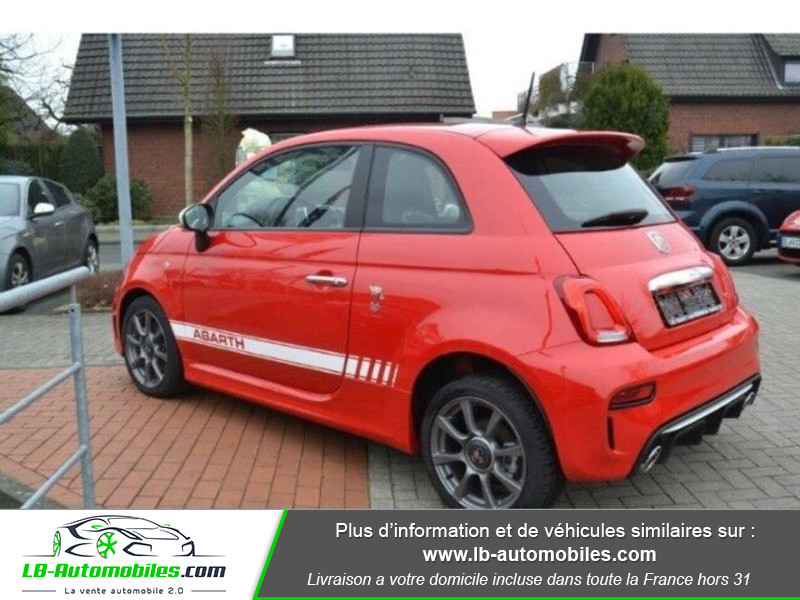Abarth 595 1.4 Turbo T-Jet 145 ch Rouge occasion à Beaupuy - photo n°5