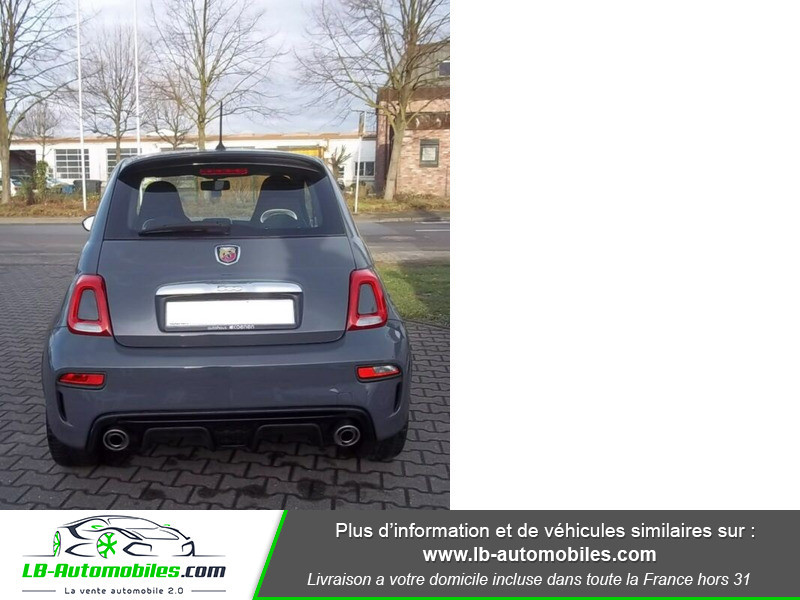 Abarth 595 1.4 Turbo T-Jet 145 ch Gris occasion à Beaupuy - photo n°12