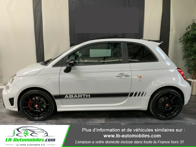 Abarth 595 1.4 Turbo T-Jet 145 ch Gris occasion à Beaupuy - photo n°10
