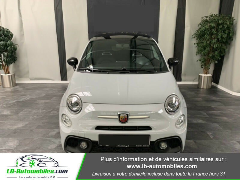 Abarth 595 1.4 Turbo T-Jet 145 ch Gris occasion à Beaupuy - photo n°9