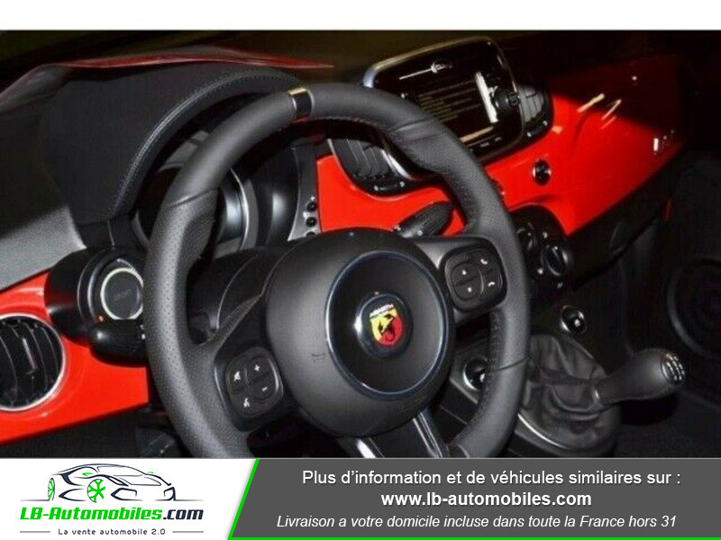Abarth 595 1.4 Turbo T-Jet 145 ch Rouge occasion à Beaupuy - photo n°4