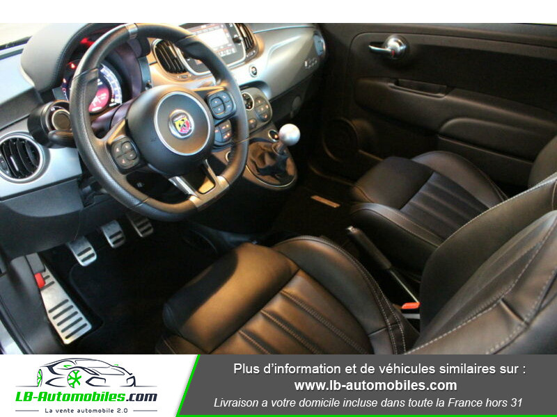 Abarth 595 1.4 Turbo T-Jet 165 ch Gris occasion à Beaupuy - photo n°4