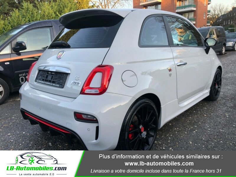 Abarth 595 1.4 Turbo T-Jet 165 ch Gris occasion à Beaupuy - photo n°3