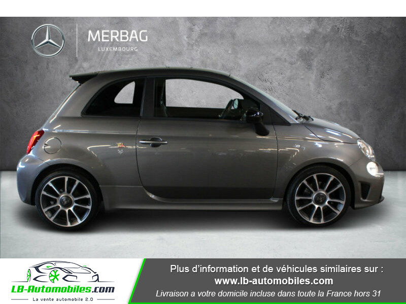 Abarth 595 1.4 Turbo T-Jet 165 ch Gris occasion à Beaupuy - photo n°6