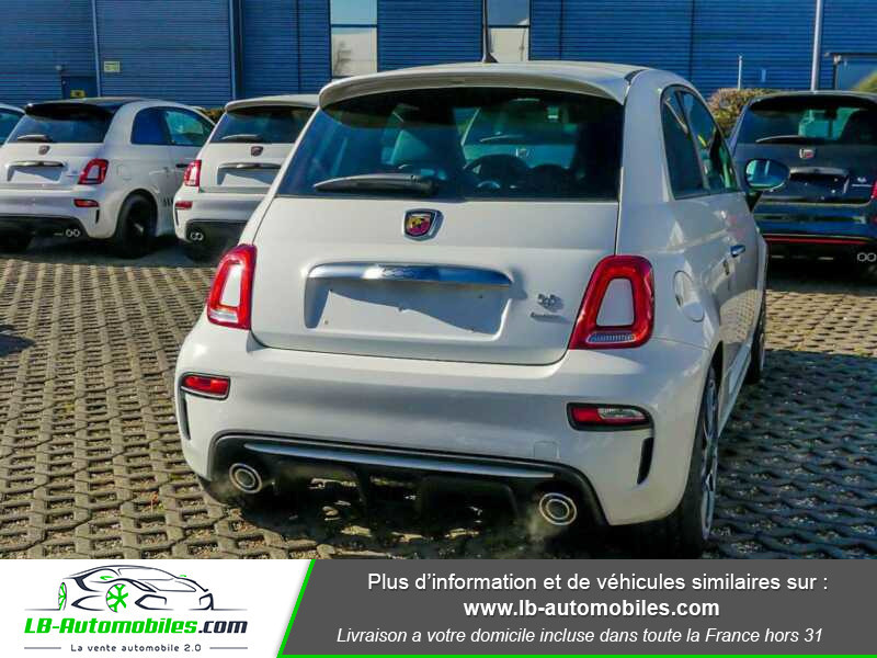 Abarth 595 1.4 Turbo T-Jet 165 ch Blanc occasion à Beaupuy - photo n°3