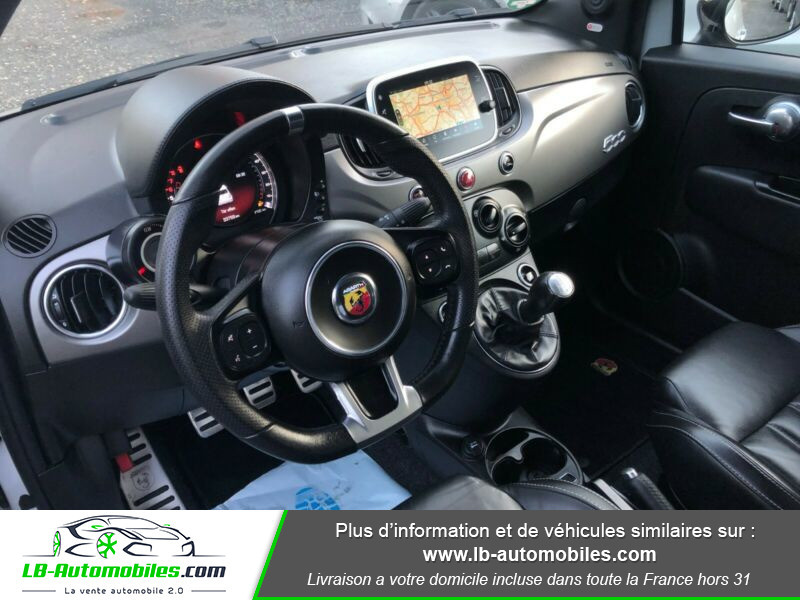 Abarth 595 1.4 Turbo T-Jet 165 ch Gris occasion à Beaupuy - photo n°7