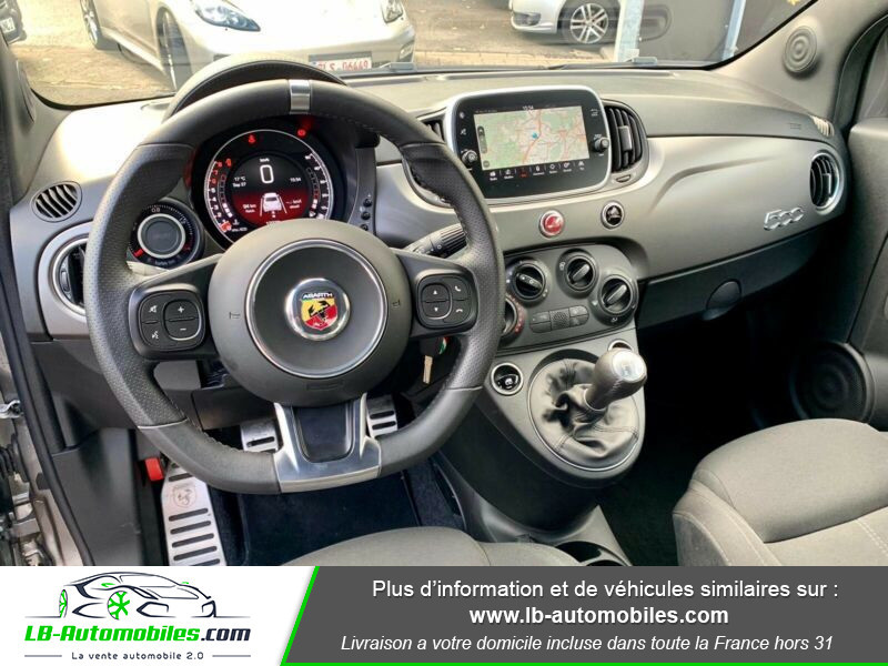 Abarth 595 1.4 Turbo T-Jet 165 ch Gris occasion à Beaupuy - photo n°2