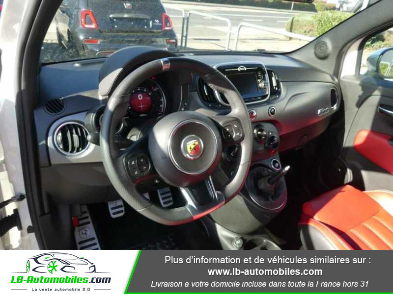Abarth 595 1.4 Turbo T-Jet 165 ch Blanc occasion à Beaupuy - photo n°2