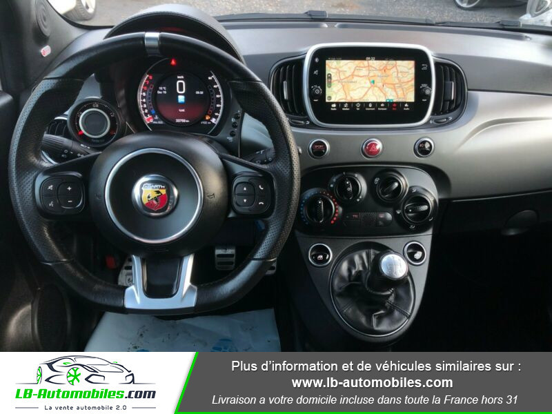Abarth 595 1.4 Turbo T-Jet 165 ch Gris occasion à Beaupuy - photo n°5